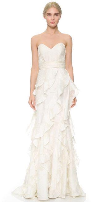 Vestidos de novia por menos de 600eur - 1
