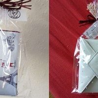 Set manicura en estuche forma de carta