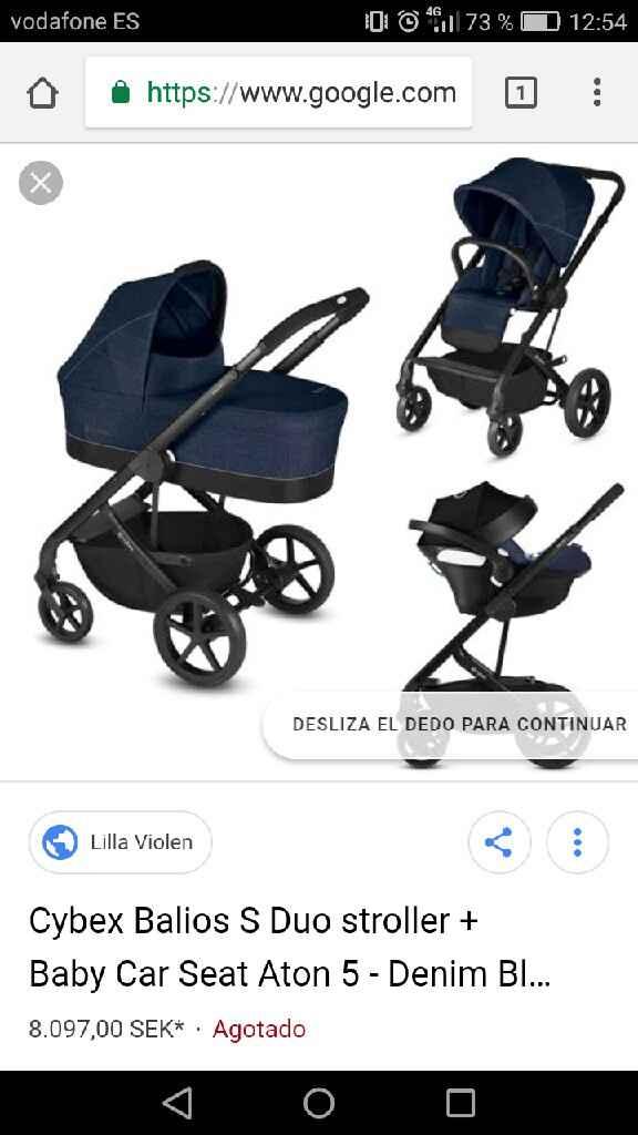 Carro bebé Confort - 1