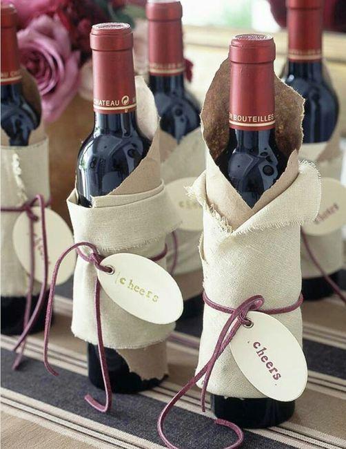 envoltorios para botella de vino