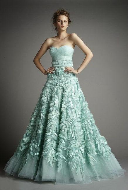 Vestidos de novia a todo color!! 3