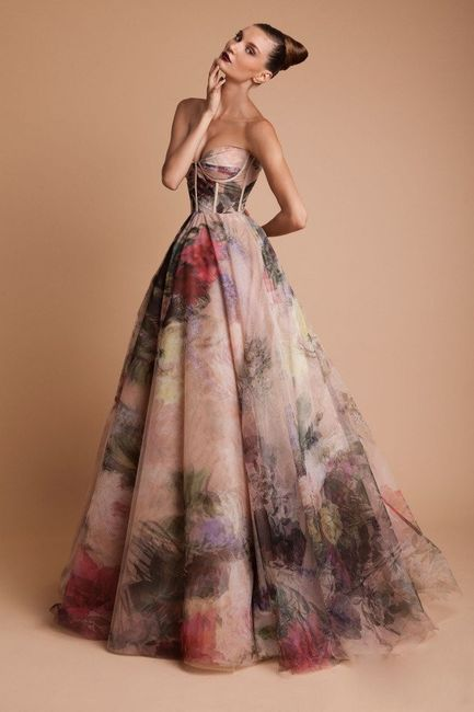 Vestidos de novia a todo color!! 5