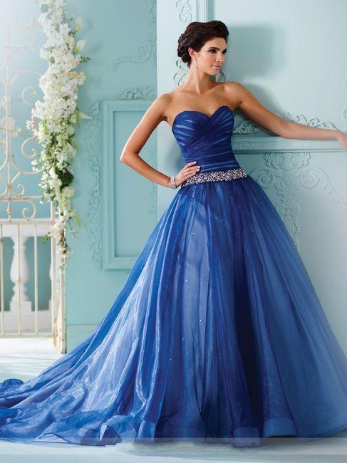 Vestidos de novia a todo color!! 6