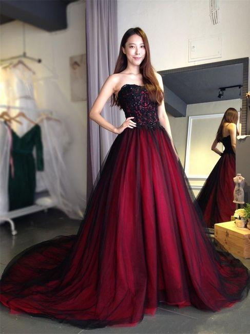 Vestidos de novia a todo color!! 7
