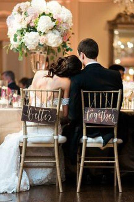 ¿Personalizaréis vuestros asientos de la ceremonia? 3