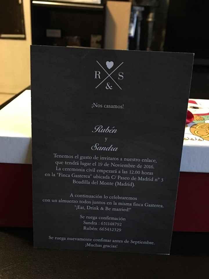 ¡ya tenemos nuestras invitaciones! - 3