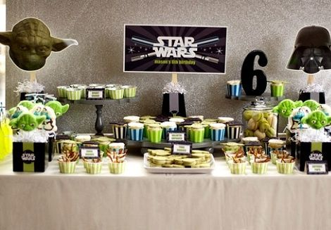 Candy salado bar star wars manualidades foro for Decoracion star wars