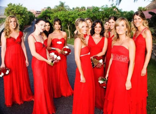 Rojo Damas