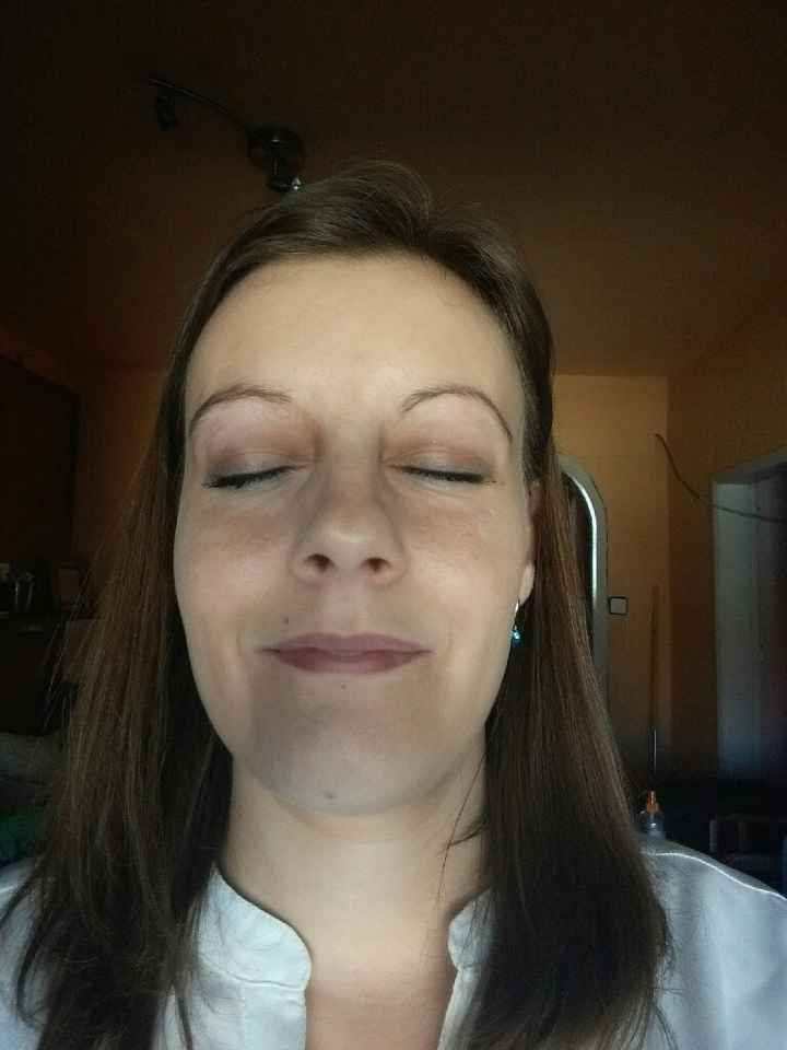 Segunda prueba de maquillaje - 1