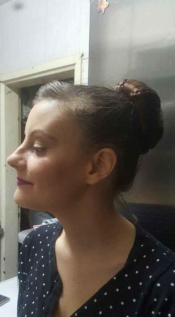Prueba de maquillaje y peinado definitiva!!!!! - 1