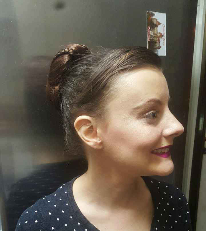 Prueba de maquillaje y peinado definitiva!!!!! - 2