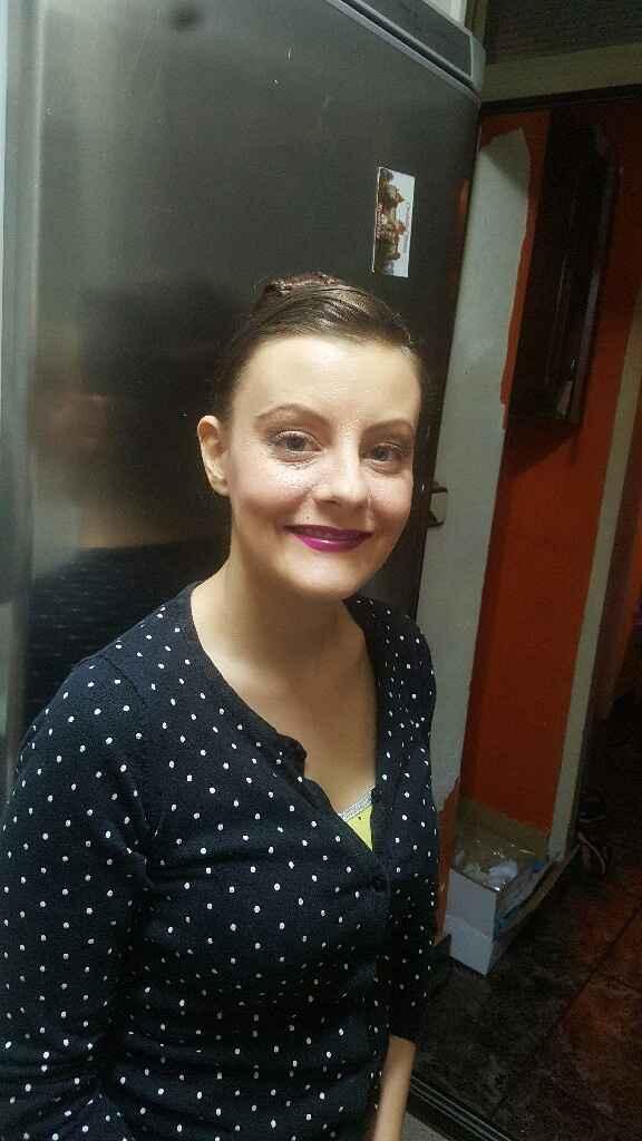 Prueba de maquillaje y peinado definitiva!!!!! - 3