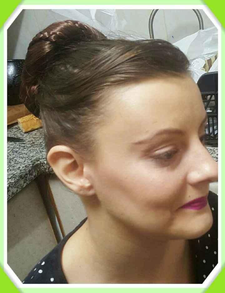Prueba de maquillaje y peinado definitiva!!!!! - 4