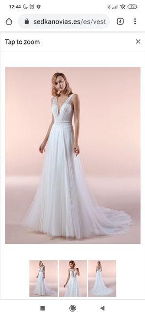 Vestido de novia.... Tienda?... On-line? 6