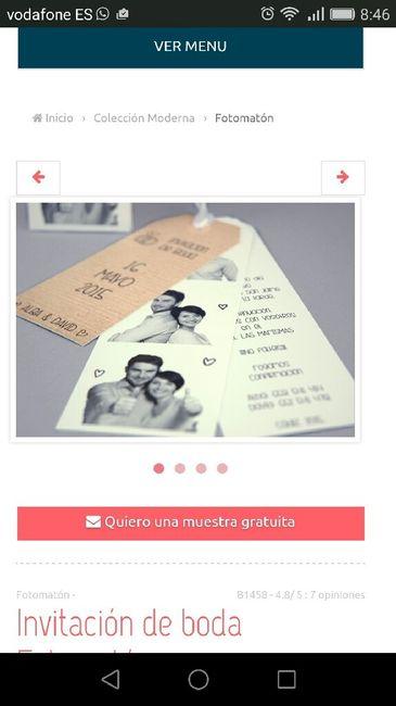 Invitaciones De Boda Tipo Fotomaton Ayudaa Manualidades Foro - Ver-invitaciones-de-boda