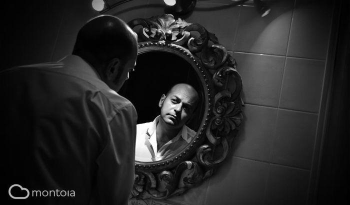 foto mi boda espejo baño