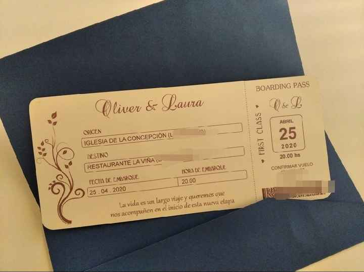 Invitaciones de boda! - 1
