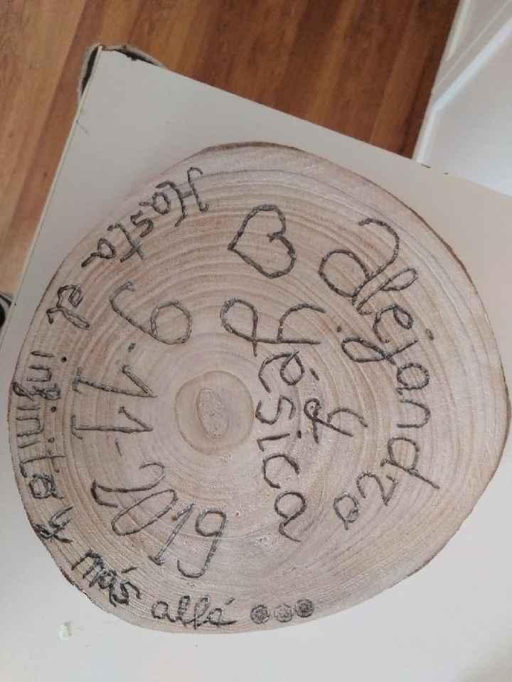 ASÍ se hace un porta alianzas de madera en casa 😉 - 1