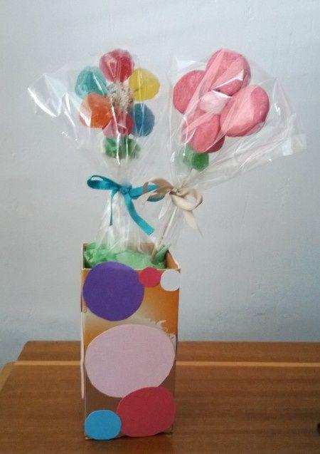 Flores de gominola p gina 2 manualidades foro - Manualidades con gominolas ...