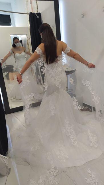 La cola de tu vestido será...👗 2