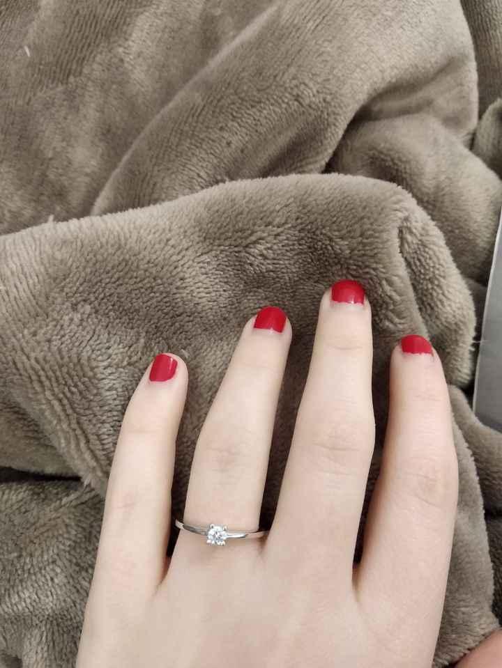 ¡Comparte una foto de tu anillo de pedida! 💍 1