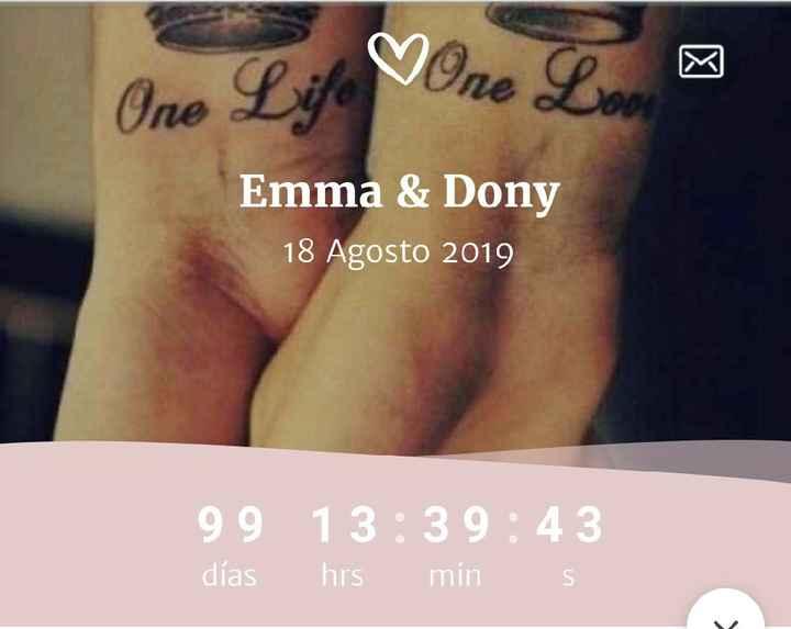 Restamos un dígito... ¡¡¡99 días!!!!😍 - 1