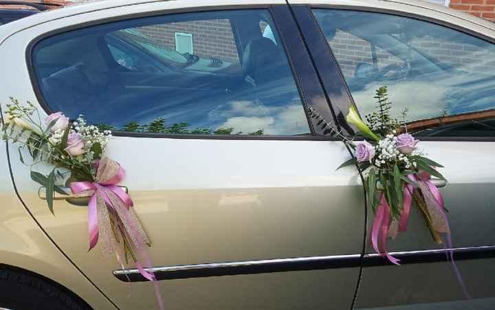 Adornos coches novios - 1