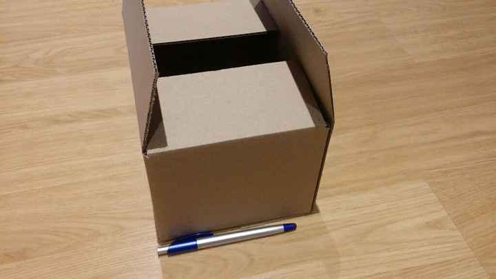 Cajitas o cajas-sobre para invitaciones - 1