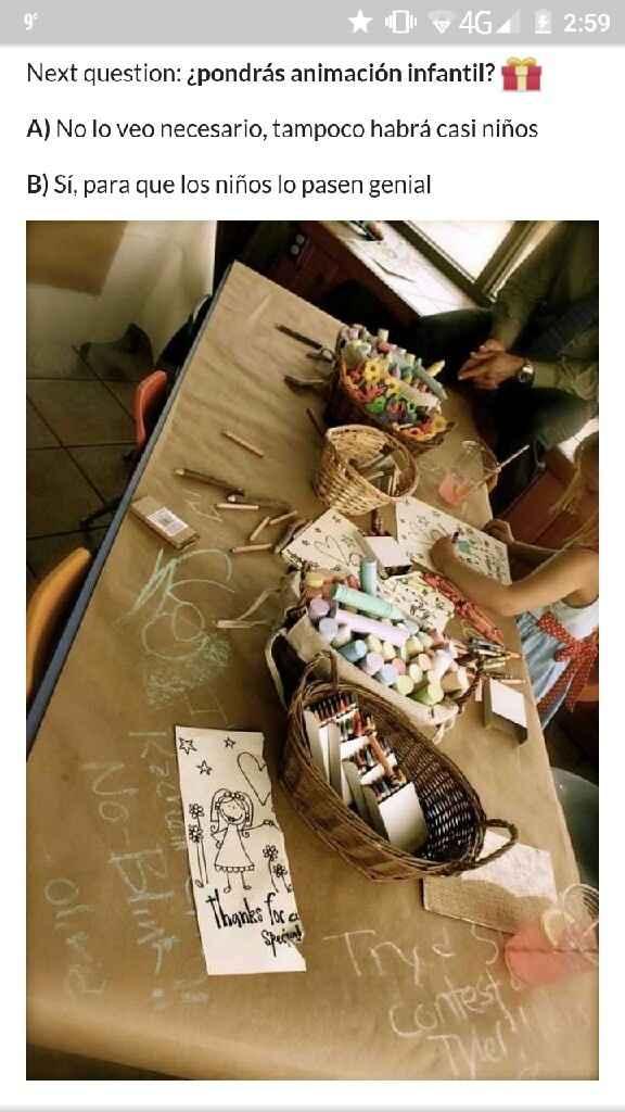 Mesa infantil - 1