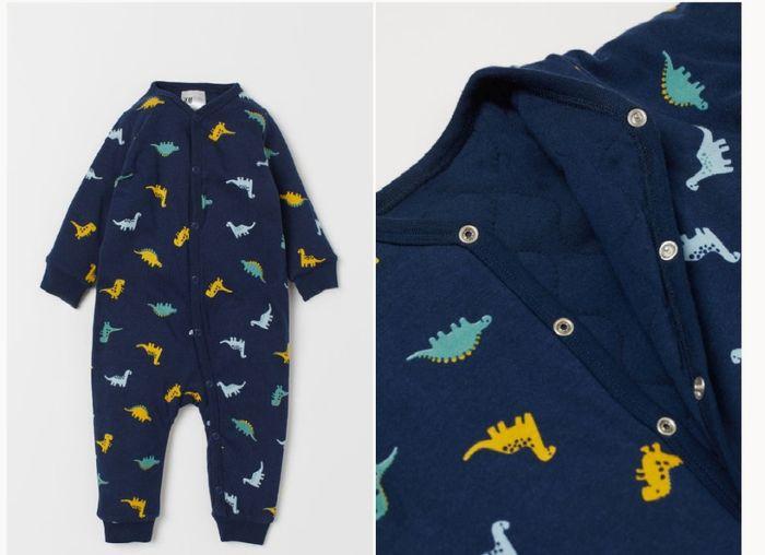 pijama acolchado h&m