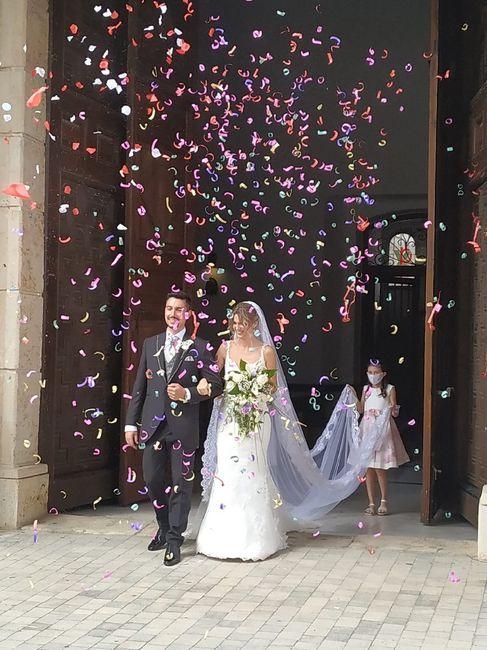 Novios que nos casamos el 19 de Septiembre de 2020 en Madrid 1