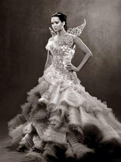 vestido novia, pelicula juegos del hambre - moda nupcial - foro