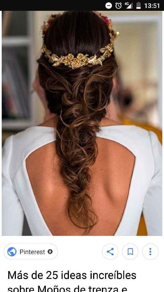 Vestido y peinado - 1