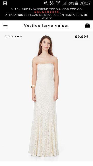 alternativas vestido de novia (black friday) - moda nupcial - foro