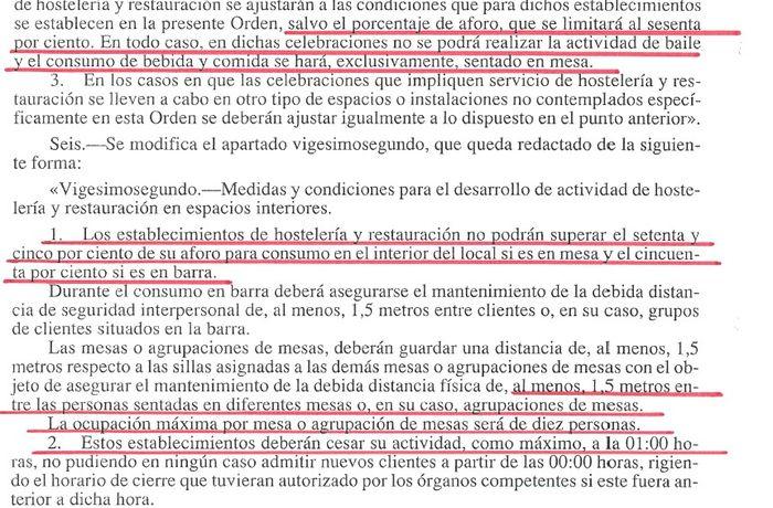 Restricciones Madrid 2