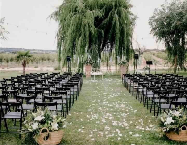 Un boda entre árboles, ¿te la pides? 😏 - 1