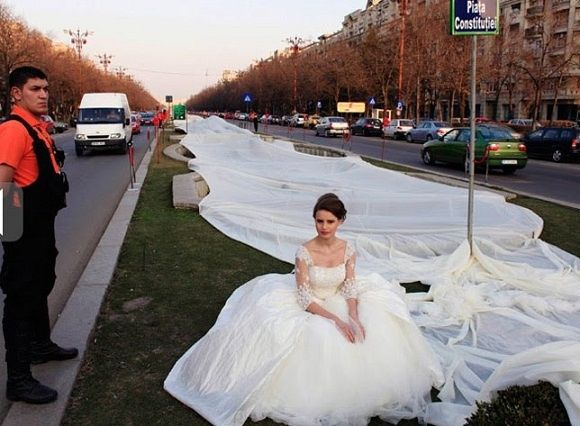vestido novia mas largo