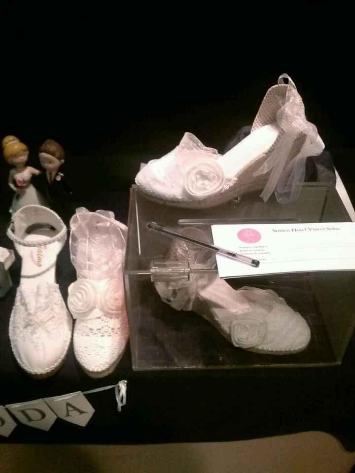Zapatillas de la novia - 1