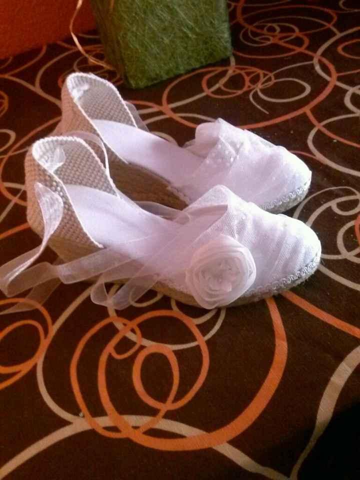 Zapatillas de la novia - 2