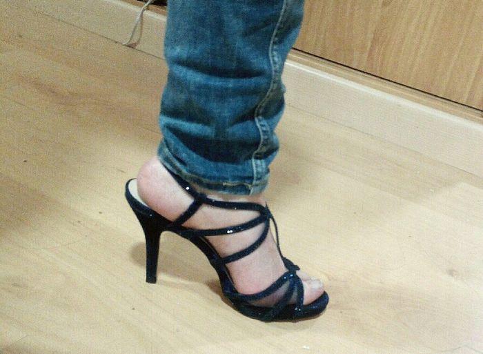 Logro desbloqueado  zapatos azules de novia!! 😍 - Moda nupcial ... 23bed13ba211