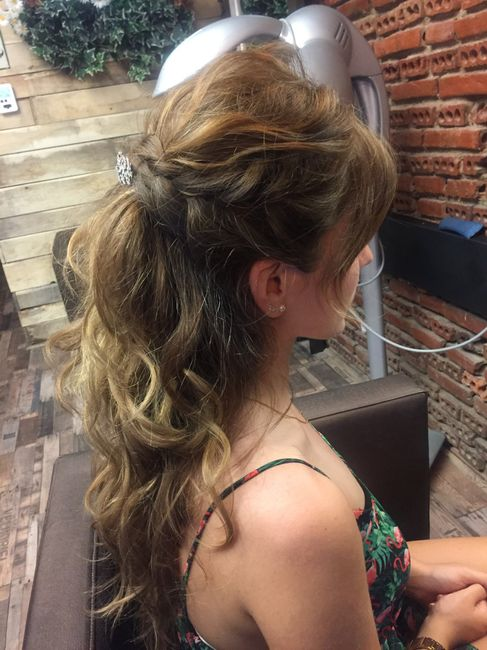 Duda prueba de peinado - 1