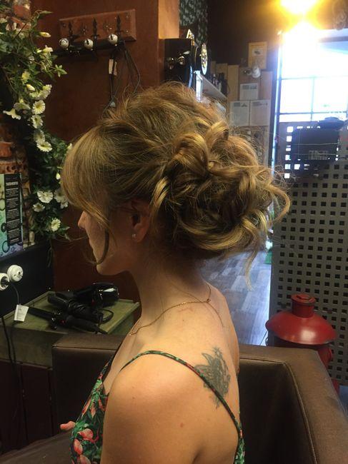 Duda prueba de peinado - 3