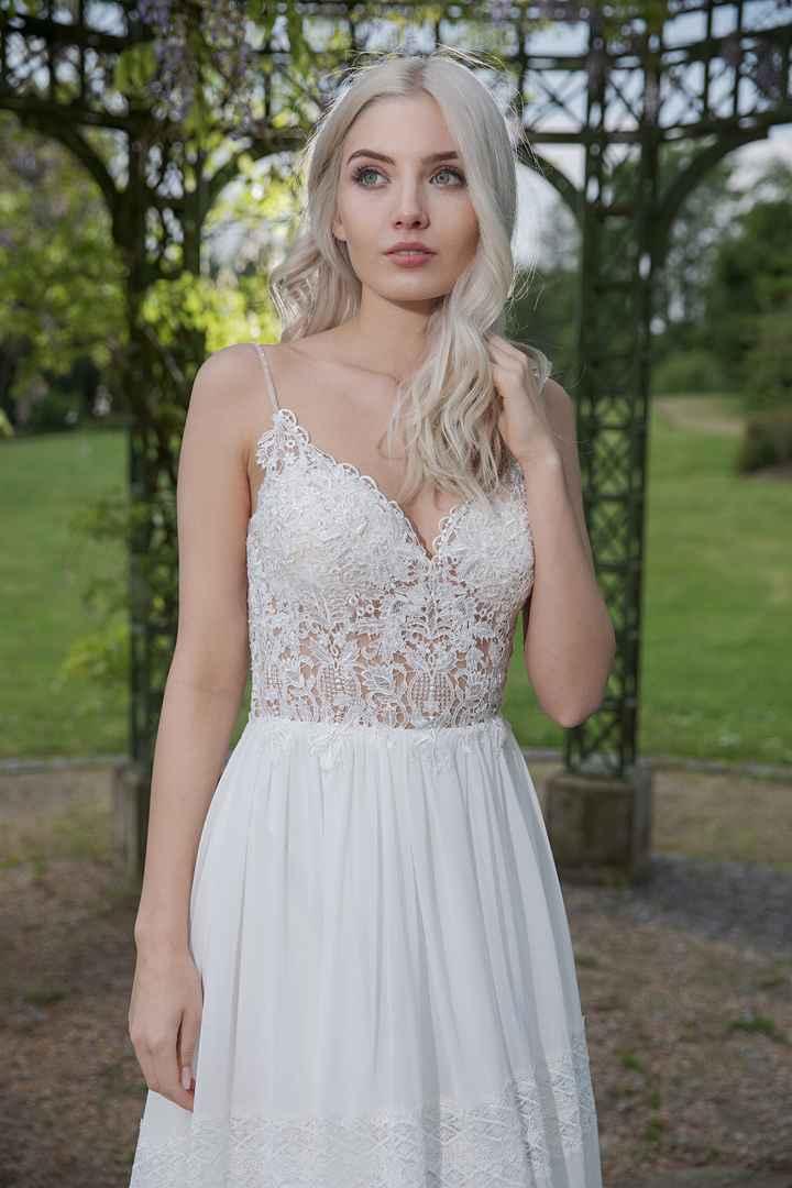 ¿Qué zapatos os pondríais con este vestido? - 2