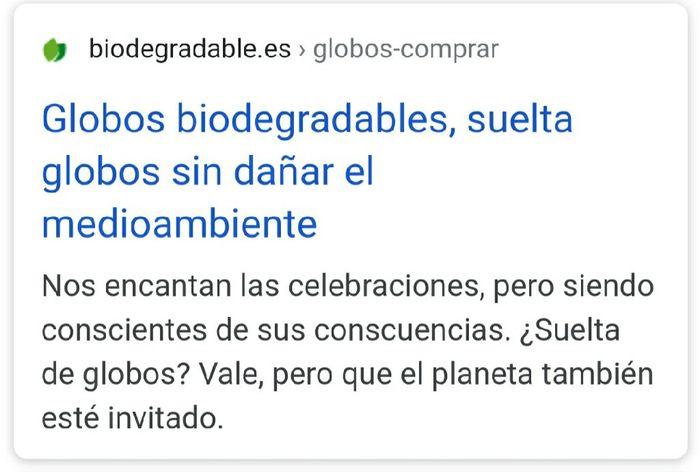 Suelta de Globos, help me!¡ 5