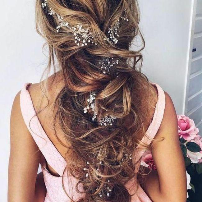 Duda de vestido y peinado 6