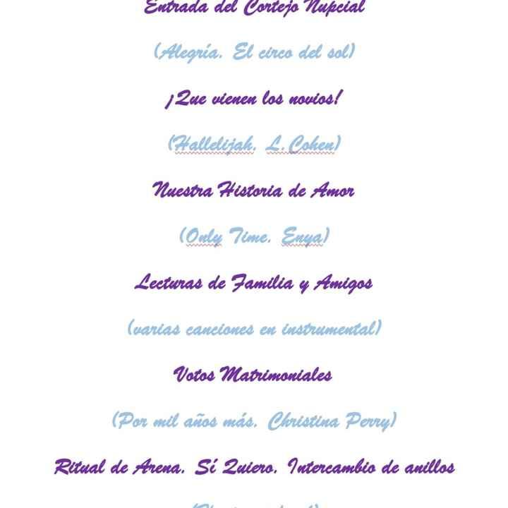 Orden Ceremonial¡! Ceremonia Civil - 1