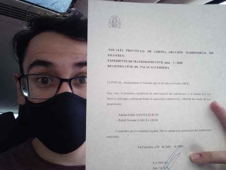 nos Casamos! ahora sí es oficial! 😅😍 - 1