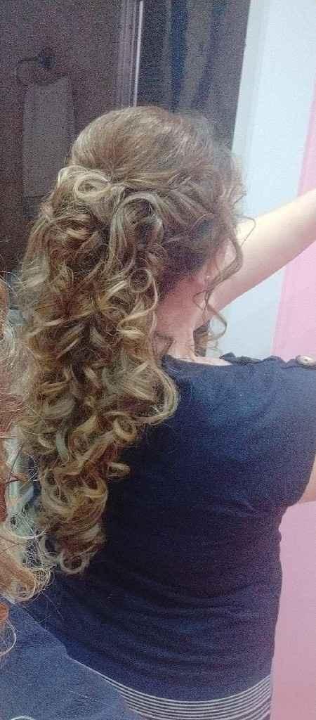 Prueba peinado....encantada!!!! - 2