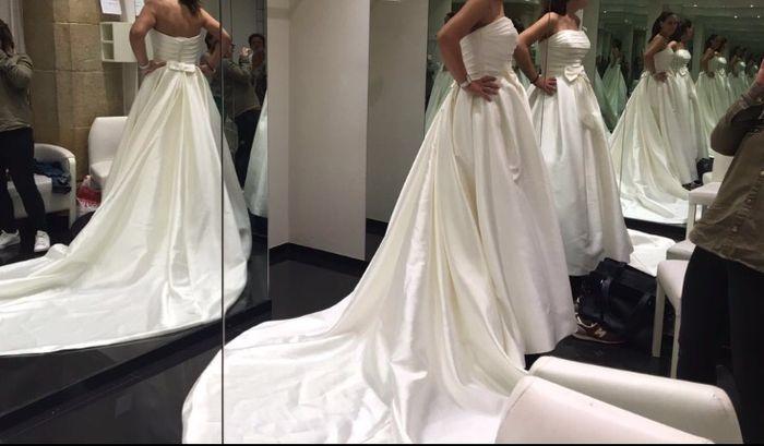 cola del vestido ¿2 o 3 metros? - moda nupcial - foro bodas