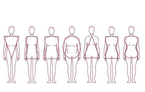 el vestido de novia según tu tipo de cuerpo.test y más - moda